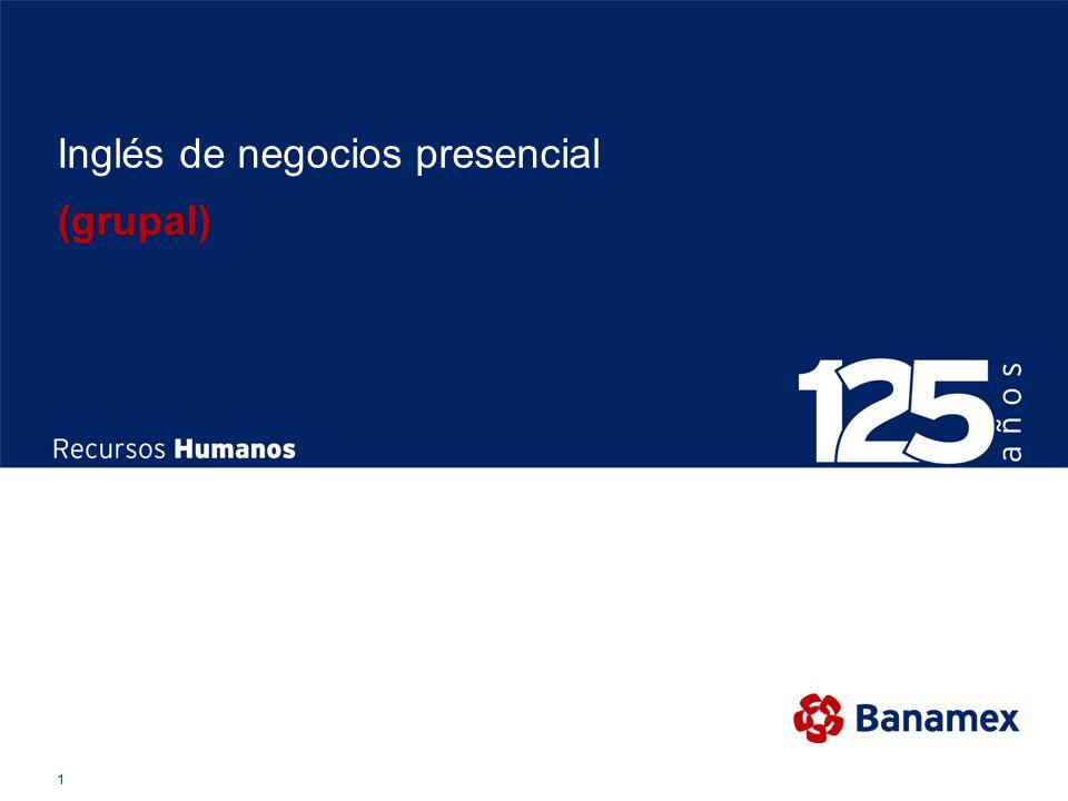 1 Inglés de negocios presencial (grupal)
