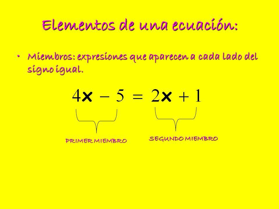 2º.- Simplificamos los denominadores: 3º.- Despejamos la incógnita (reduciendo y trasponiendo):