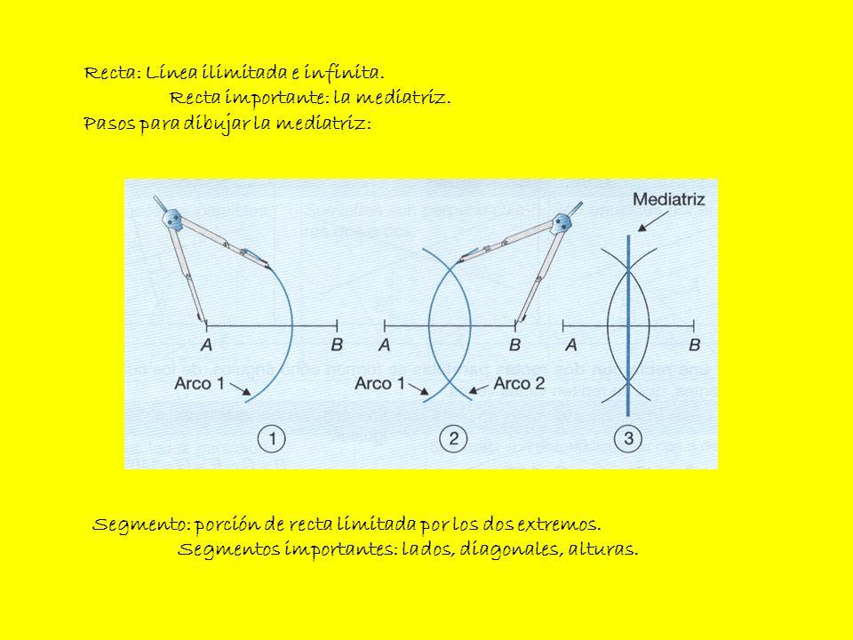 POSICIONES DE DOS RECTAS EN EL PLANO Paralelas: siempre conservan entre ellas la misma distancia.