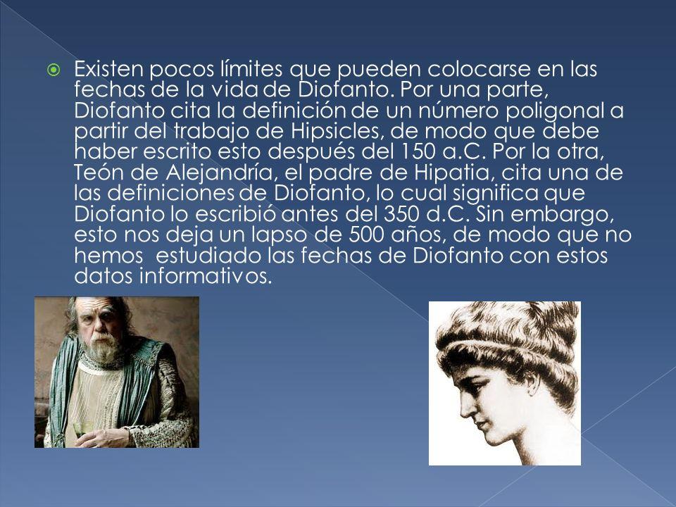 Wikipedia. Google, biografía de Diofanto.