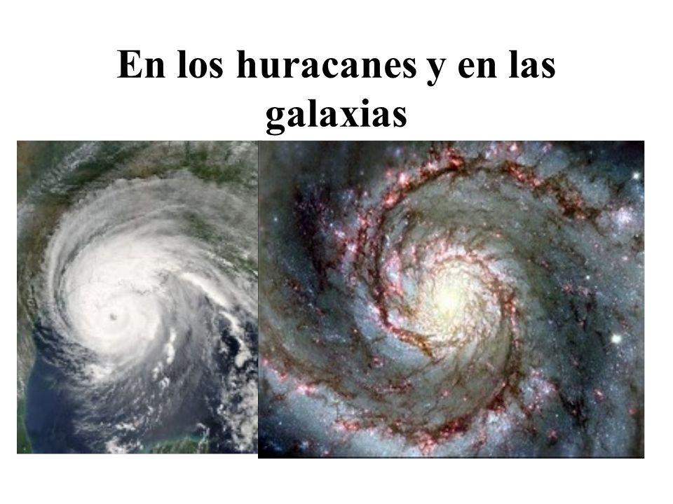 En los huracanes y en las galaxias