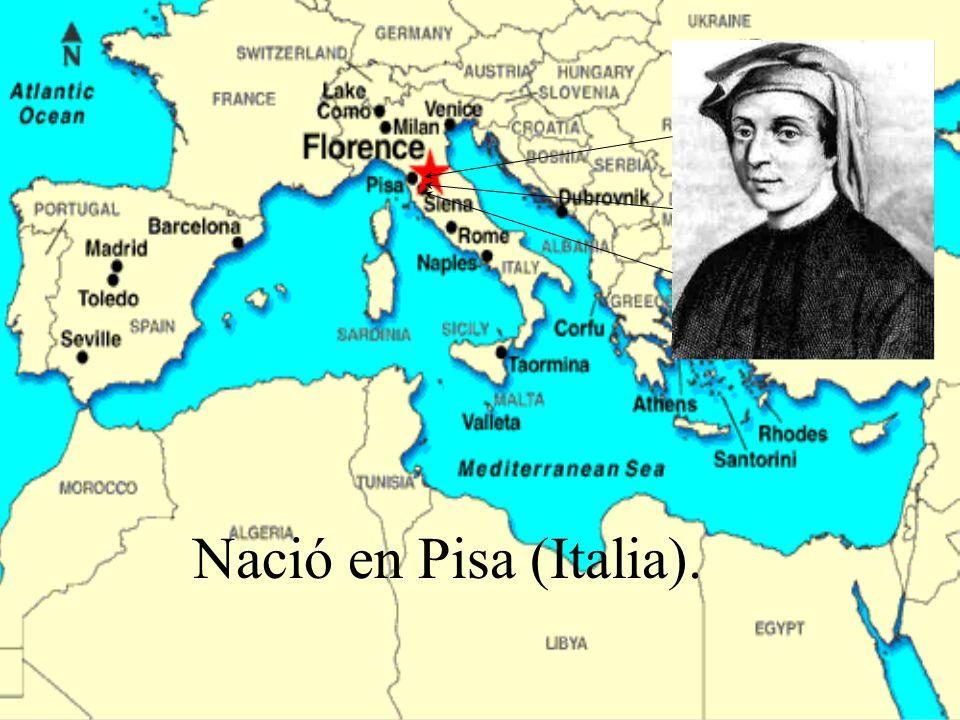 Nació en Pisa (Italia).