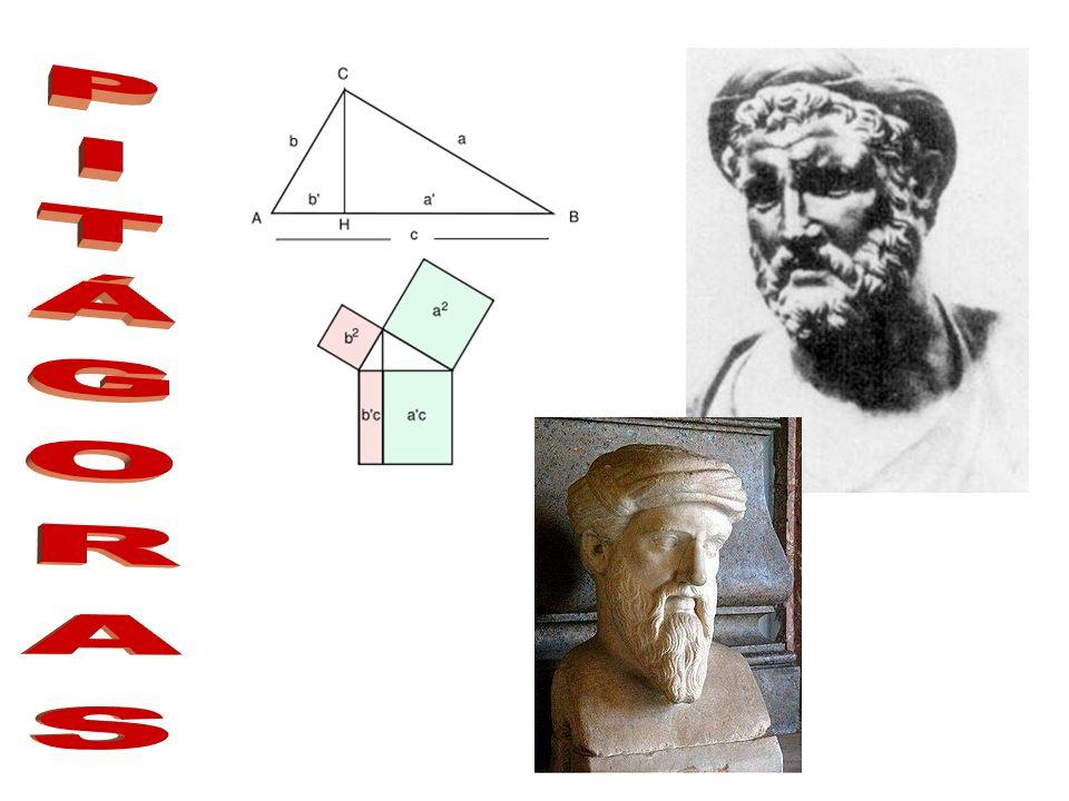 Pitágoras de Samos (aproximadamente 582 a.C.- 507 a.