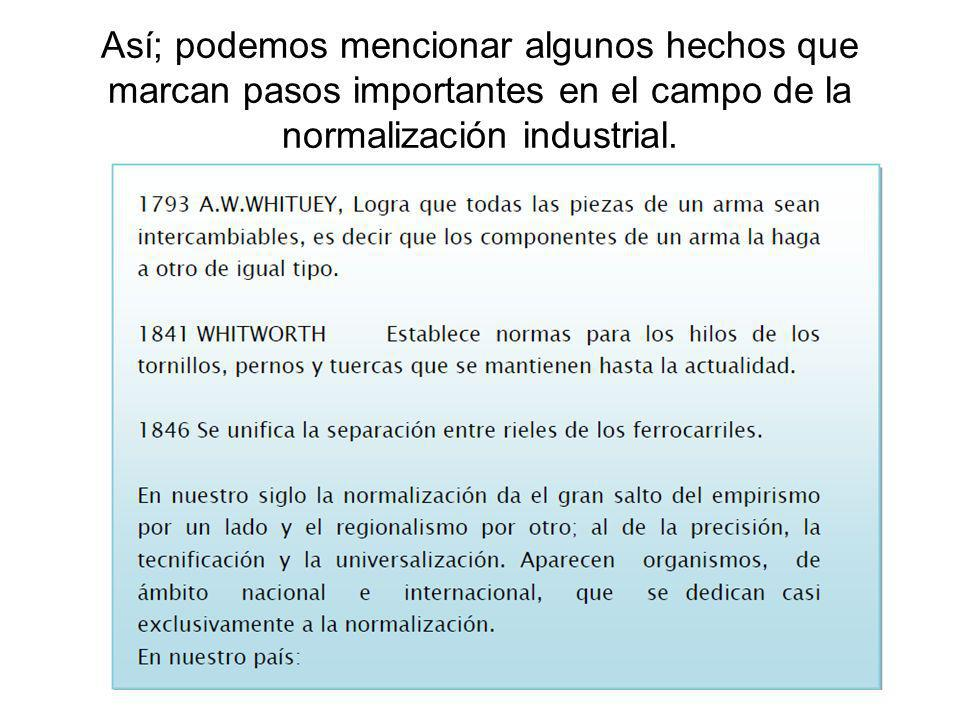 4 NORMALIZACIÓN EN EL PERÚ INANTIC1962 - 1970 ITINTEC1970 - 1992 INDECOPI - 1993 - al pte.