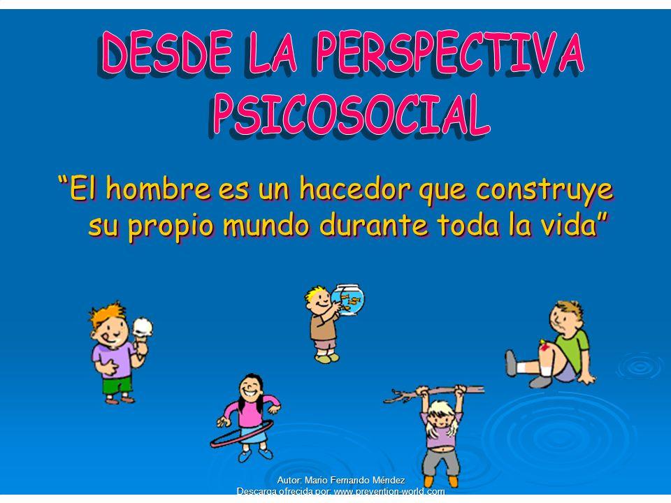 Autor: Mario Fernando Méndez Descarga ofrecida por: www.prevention-world.com Término empleado como sinónimo de sentimientos.