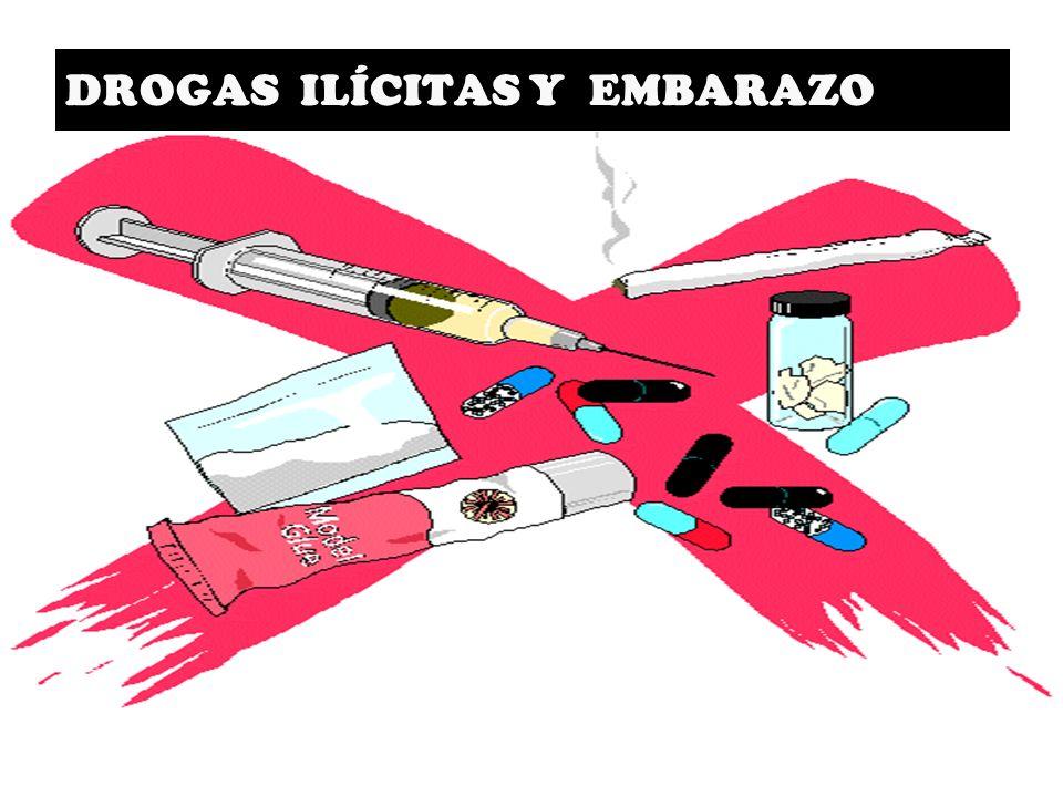 DROGAS ILÍCITAS Y EMBARAZO