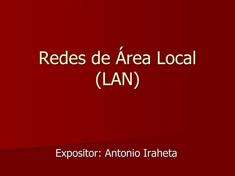 LAN ANILLO - ESTRELLA Expositor: Boris Lemus