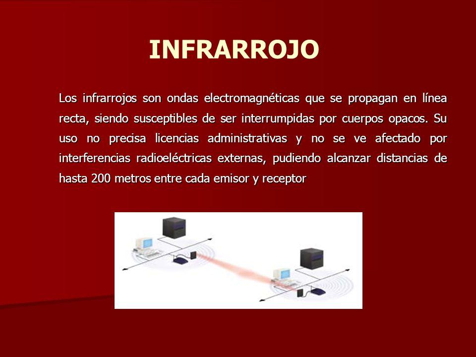 INFRARROJO Los infrarrojos son ondas electromagnéticas que se propagan en línea recta, siendo susceptibles de ser interrumpidas por cuerpos opacos. Su