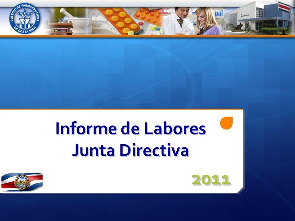 Informe de Labores Junta Directiva 20112011