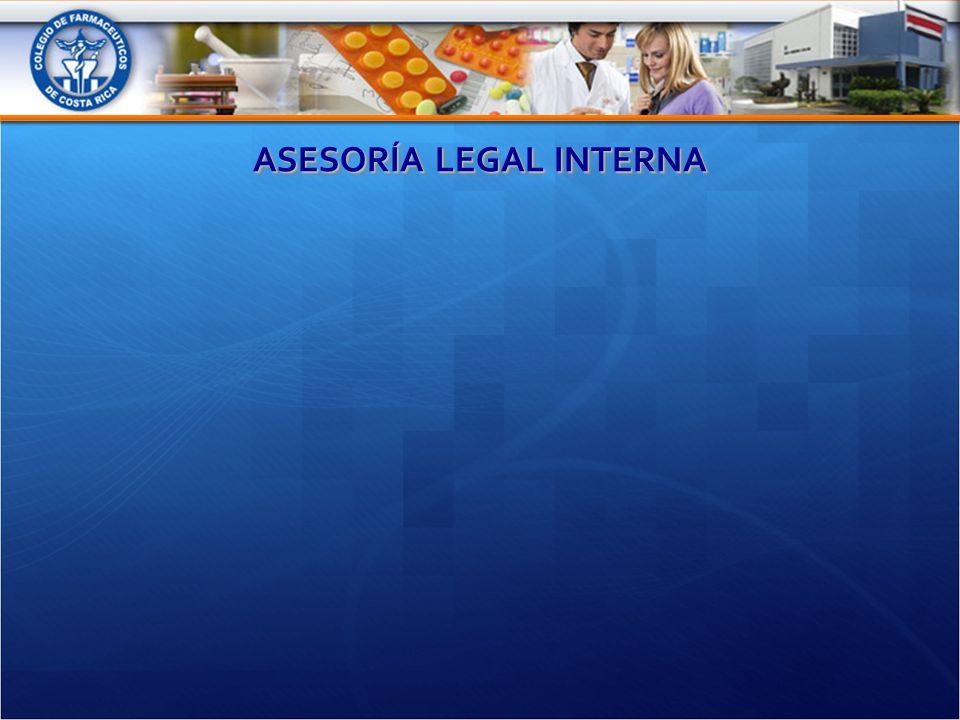 ASESORÍA LEGAL INTERNA