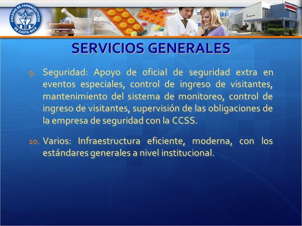 SERVICIOS GENERALES 9.