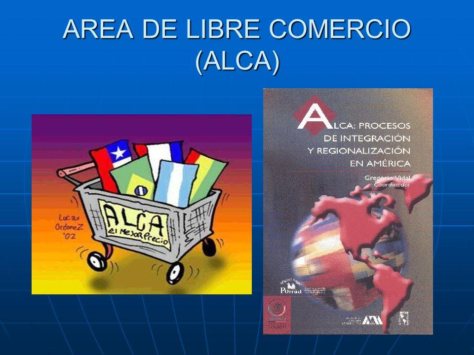 AREA DE LIBRE COMERCIO (ALCA)