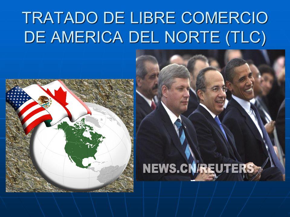TRATADO DE LIBRE COMERCIO DE AMERICA DEL NORTE (TLC)