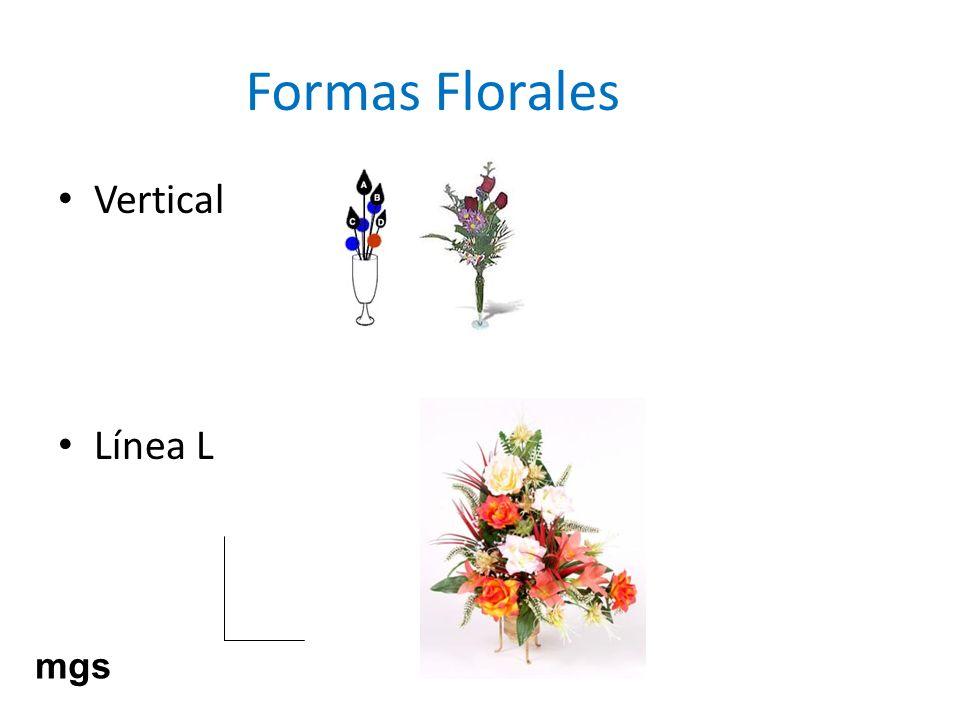 Formas Florales Vertical Línea L mgs
