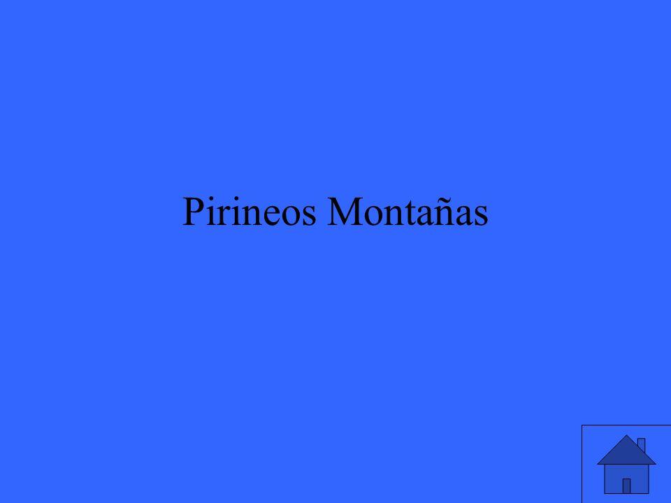 Pirineos Montañas