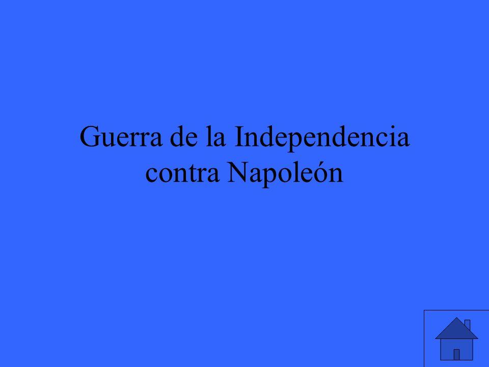 Guerra de la Independencia contra Napoleón