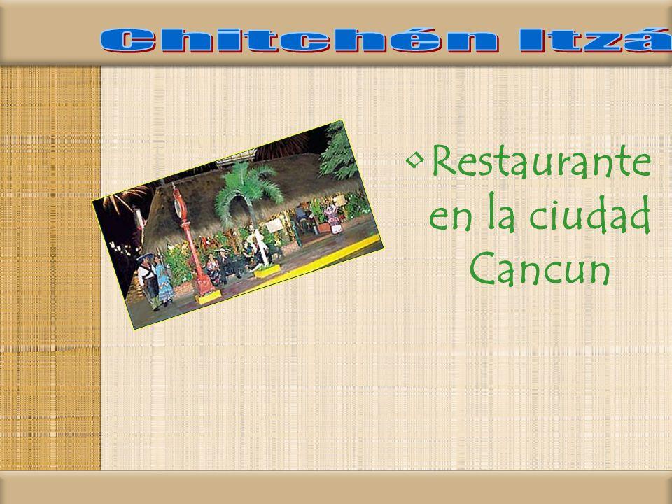 Restaurante en la ciudad Cancun