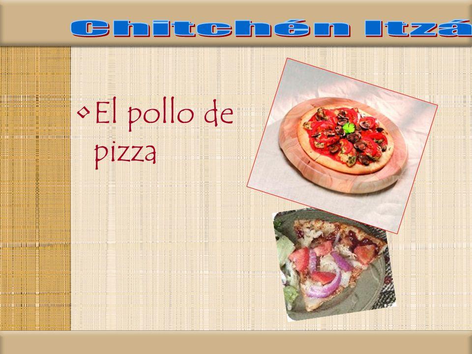 El pollo de pizza