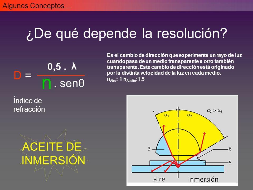 Los objetos pueden también visualizarse por la luz que ellos mismos emiten Microscopio óptico - Fluorescencia Restringe infrarrojo Pasa sólo la λ que permite la excitación del fluorocromo