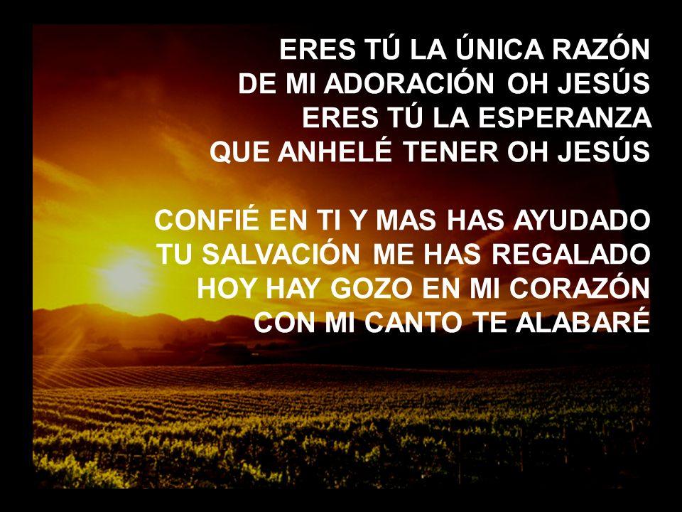 A ti el Alfa y la Omega A TI EL ALFA Y LA OMEGA, EL PRINCIPIO Y EL FIN Y EL GRAN YO SOY, ME RINDO.