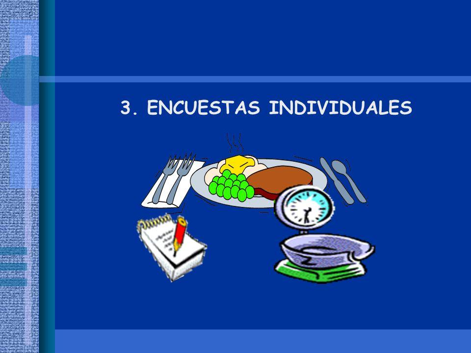 3. ENCUESTAS INDIVIDUALES