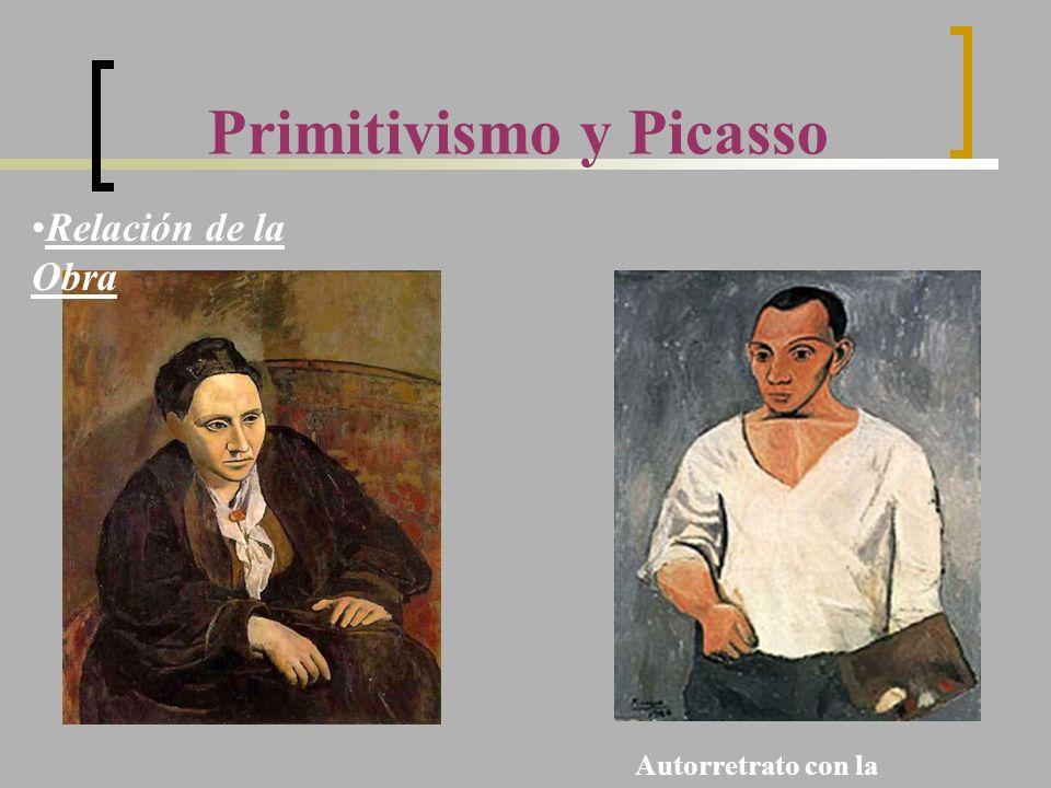 Primitivismo y Picasso Autorretrato con la Paleta (1906) Relación de la Obra