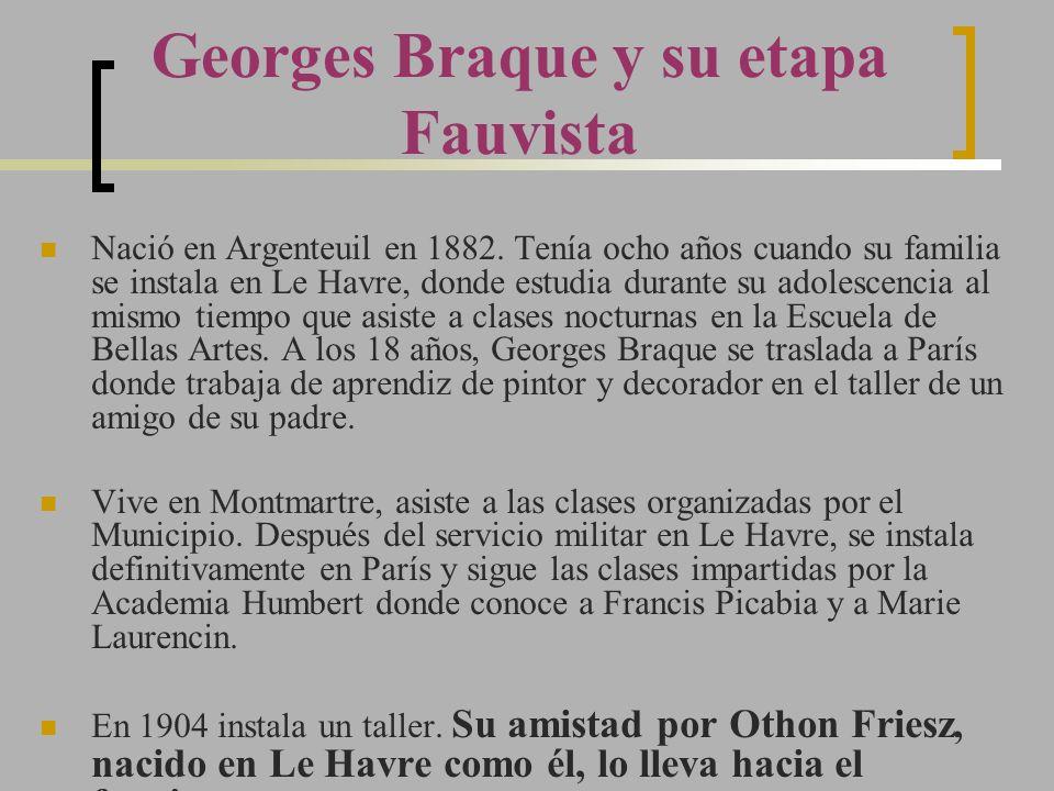 Nació en Argenteuil en 1882. Tenía ocho años cuando su familia se instala en Le Havre, donde estudia durante su adolescencia al mismo tiempo que asist