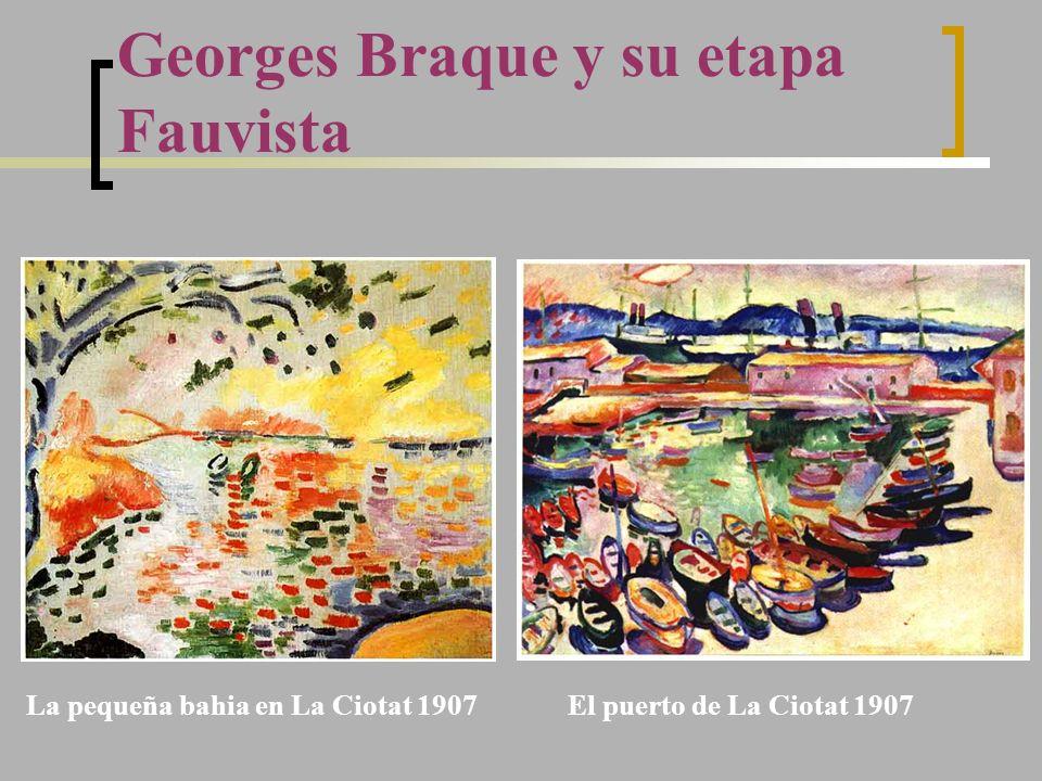 Georges Braque y su etapa Fauvista El puerto de La Ciotat 1907La pequeña bahia en La Ciotat 1907