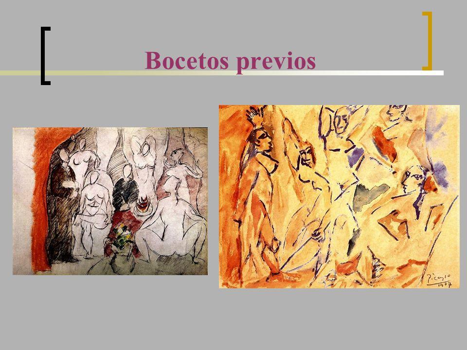 Bocetos previos