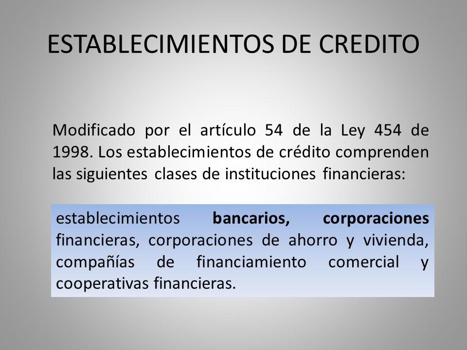 Corporaciones financieras (Operaciones de colocación) Negociar títulos representativos del capital o los activos de sociedades que afronten quebrantos de solvencia o liquidez, en cuyo caso la corporación financiera correspondiente podrá obtener financiación para adquirirlas.