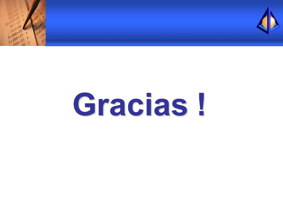 Gracias !