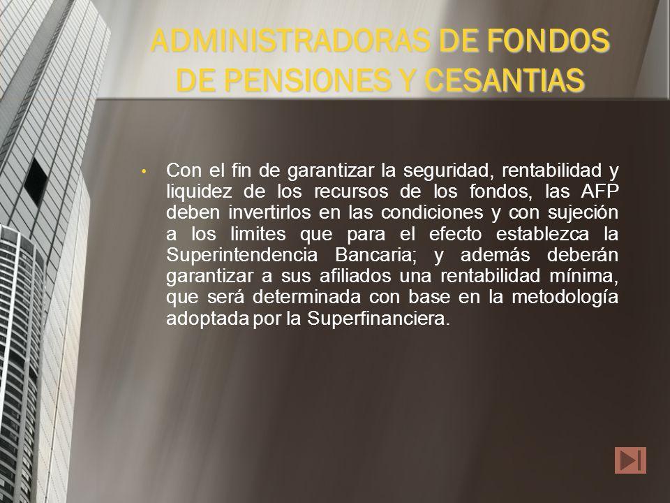 Cuentan con la garantía del fondo de garantía de Instituciones Financieras, con cargo a sus propios recursos, para asegurar el reembolso del saldo de