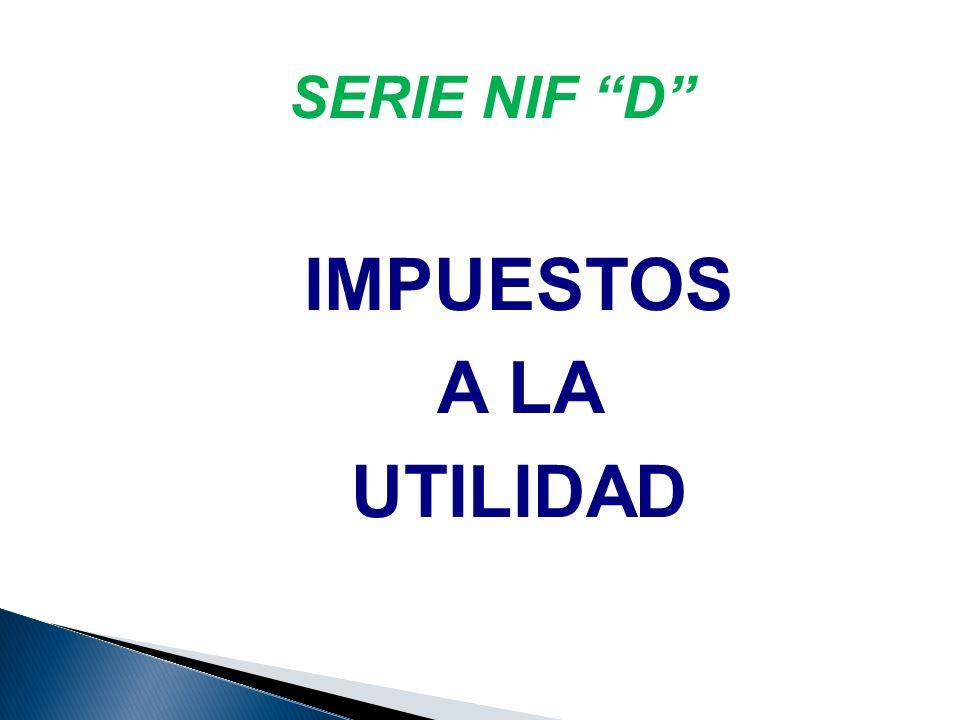 NORMAS DE INFORMACIÓN FINANCIERA NIF D – 04 EXPOSITOR L.C. EDUARDO M. ENRÍQUEZ G enriquezge@hotmail.com