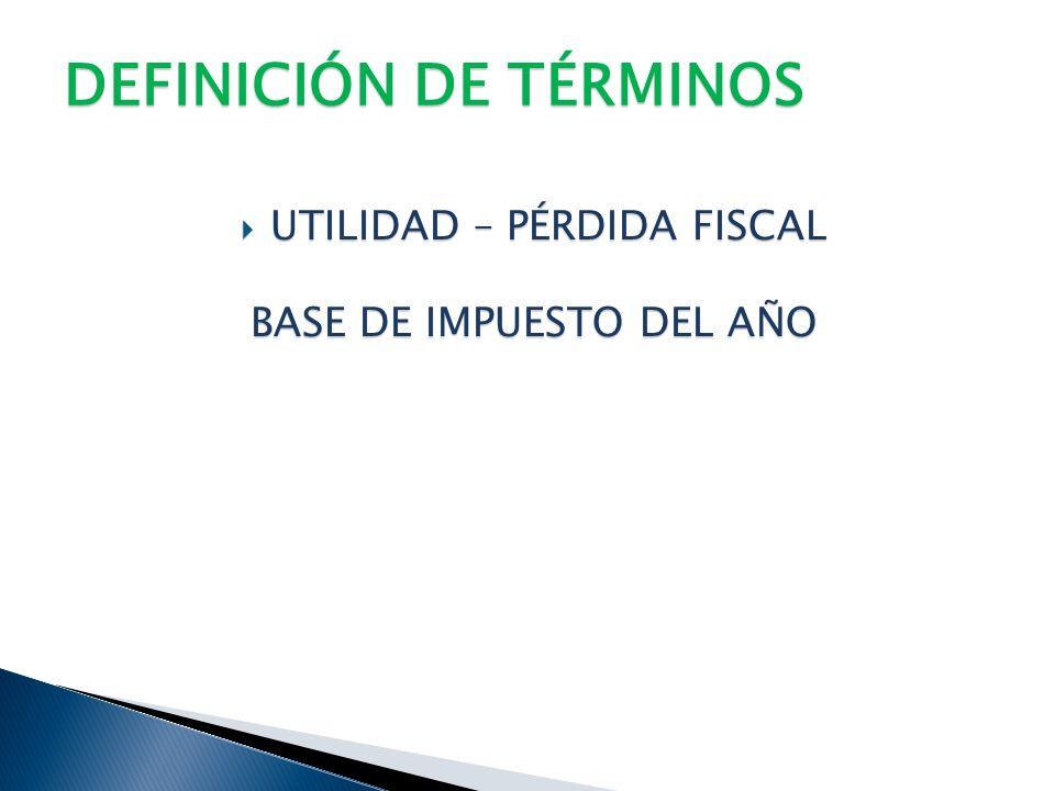 DEFINICIÓN DE TÉRMINOS DIFERENCIAS TEMPORALES – DIFERENCIAS TEMPORALES – DIFERENCIA ENTRE EL VALOR CONTABLE Y EL VALOR FISCAL PARTIDAS DEDUCIBLES (DIS