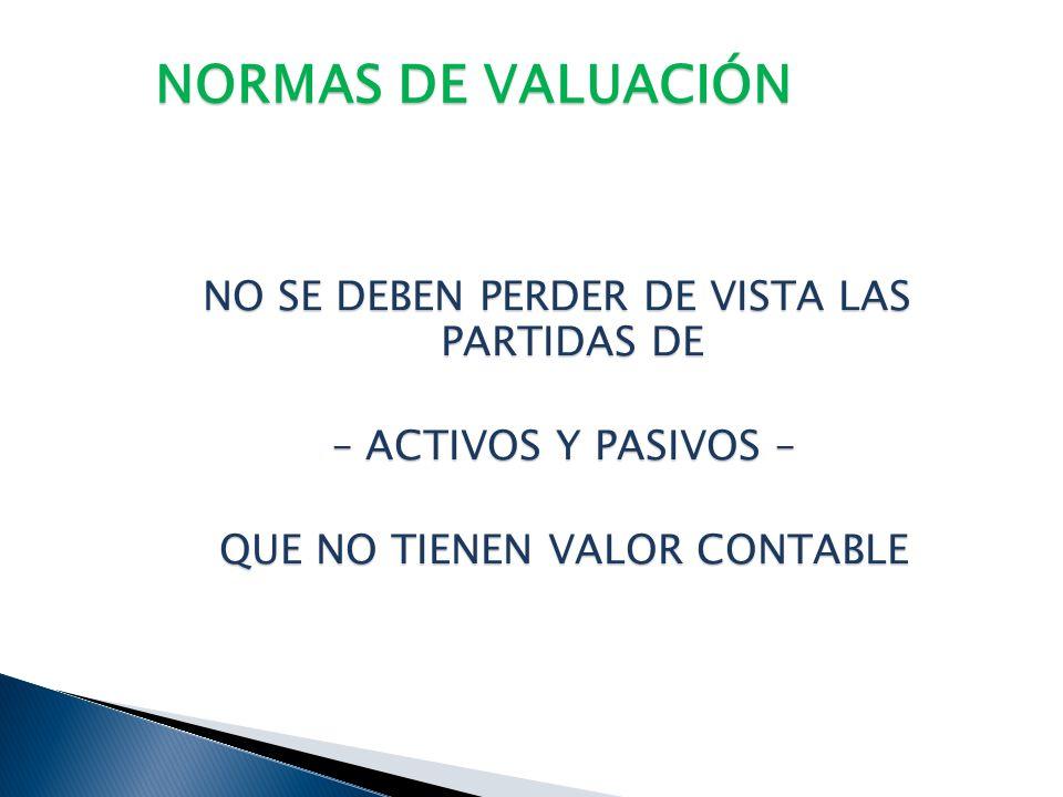 NORMAS DE VALUACIÓN VALORES FISCALES DE LOS PASIVOS VALORES FISCALES DE LOS PASIVOS PASIVOS CONTABLES POR DEDUCIR PASIVOS CONTABLES POR DEDUCIR PASIVO