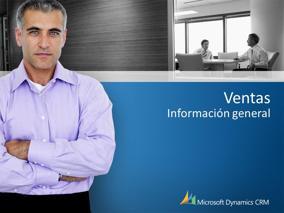 Microsoft Dynamics CRM para Ventas: Gestión de relaciones complejas Objetivo: Gestionar las complejas relaciones del mundo real entre contactos, cuentas, clientes potenciales, zonas, etc...