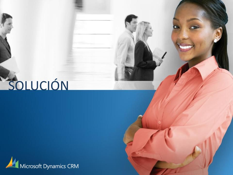 Solución de ventas de Microsoft Dynamics CRM Capacidades de ventas Funcionalidad completa Flujo de trabajo de ventas Diseñado para Usuarios Directores Ejecutivos