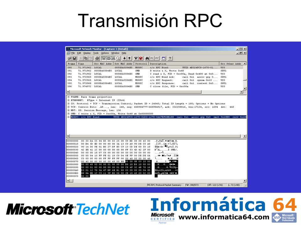 Transmisión RPC