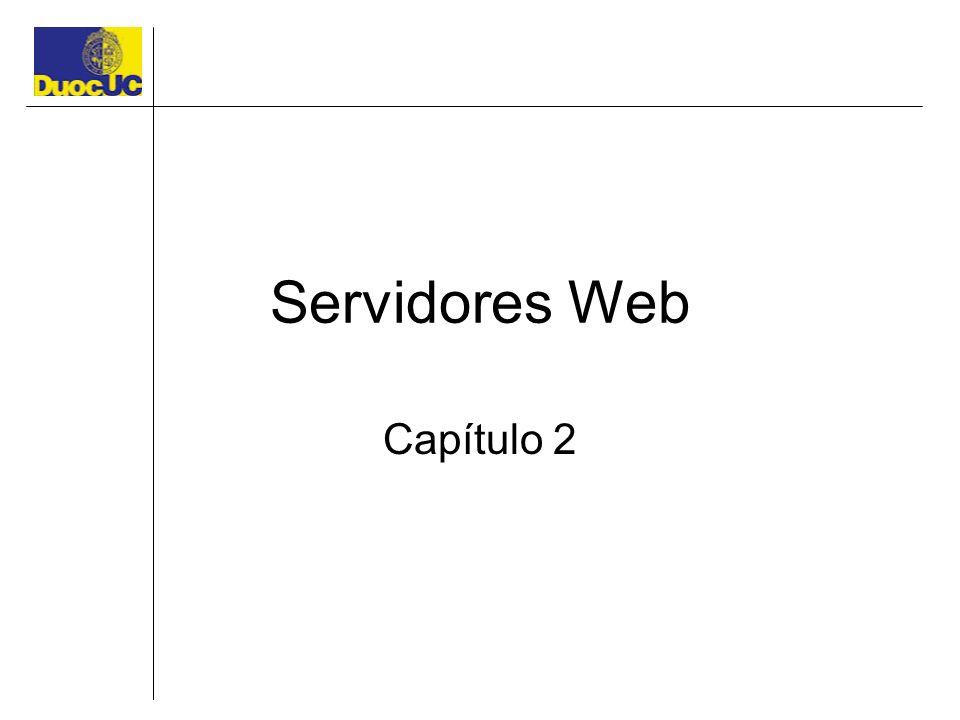Servidores Web Capítulo 2