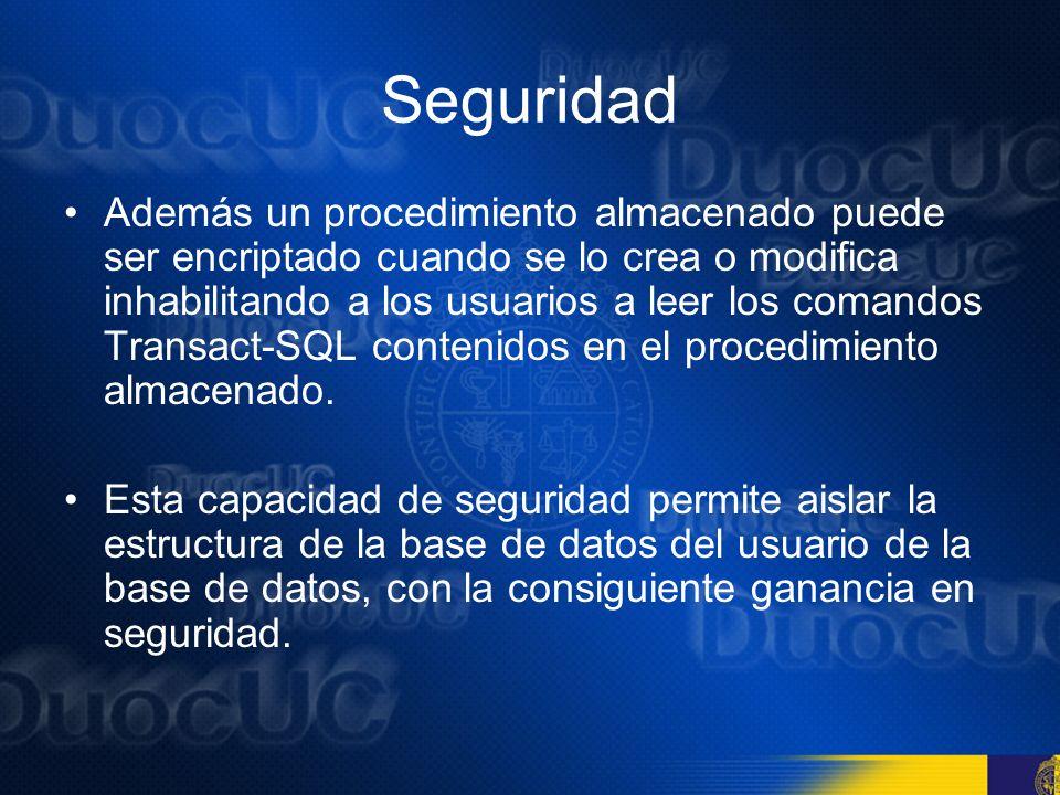 Categorías de procedimientos almacenados Existen cinco categorías : 1.procedimientos almacenados del sistema, 2.procedimientos almacenados locales, 3.procedimientos almacenados temporales, 4.procedimientos almacenados extendidos y 5.procedimientos almacenados remotos.