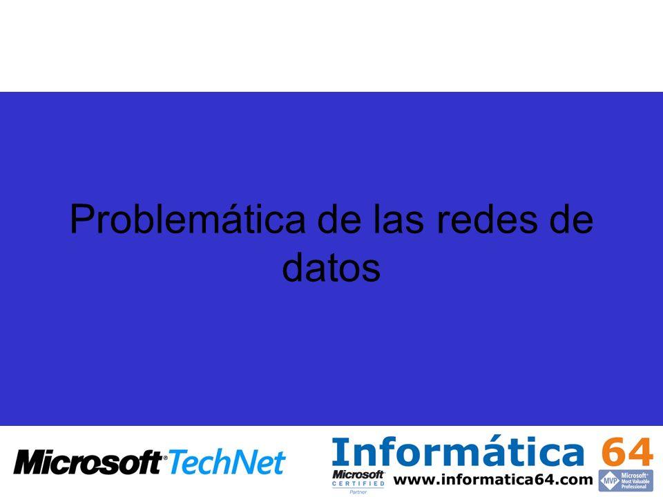 Problemáticas de la comunicación Gran cantidad de los datos que circulan por la red circulan en claro y pueden ser capturados e interpretados por un analizador de red.