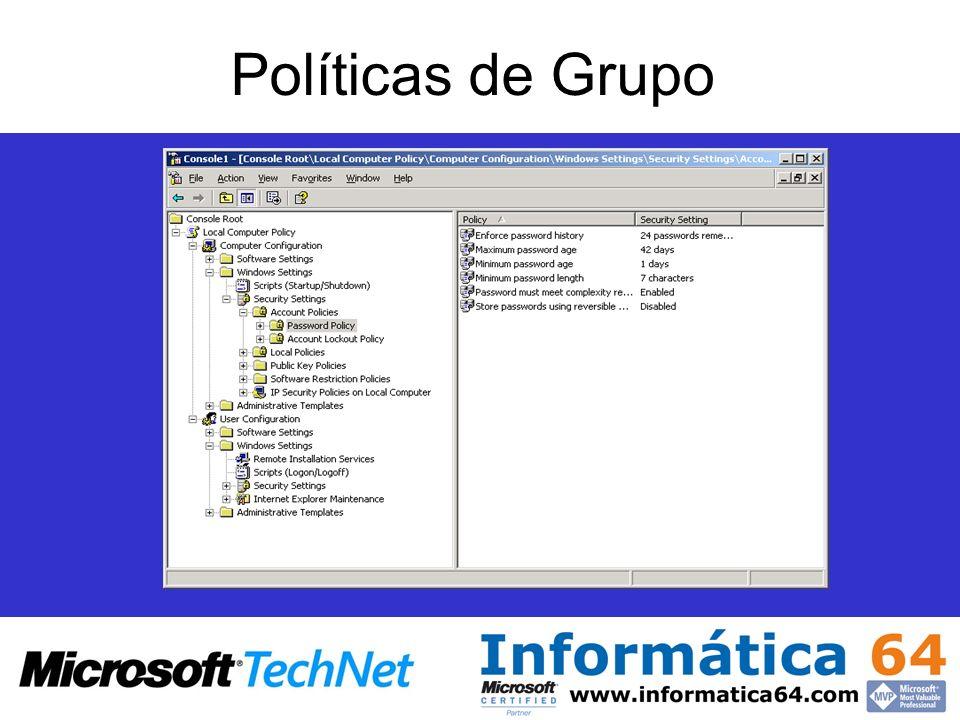 Políticas de Grupo