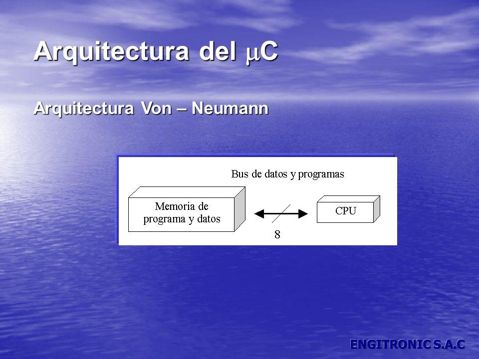 Arquitectura del C Arquitectura Von – Neumann
