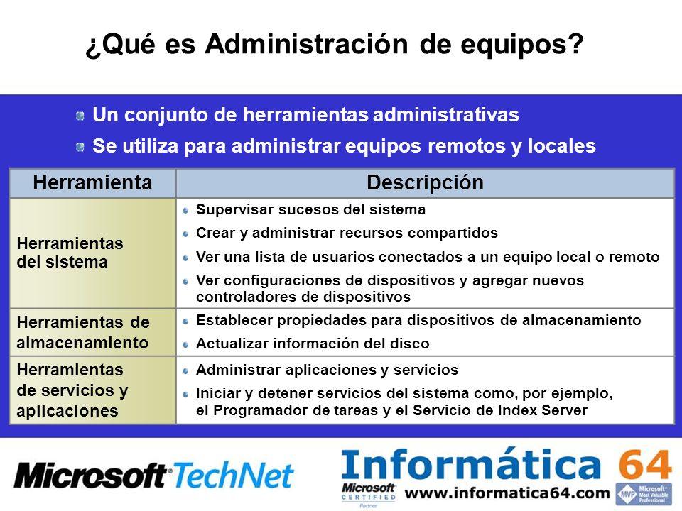 Administrar un servidor remotamente mediante Administración de equipos DEMO: cómo administrar un servidor remotamente mediante Administración de equipos