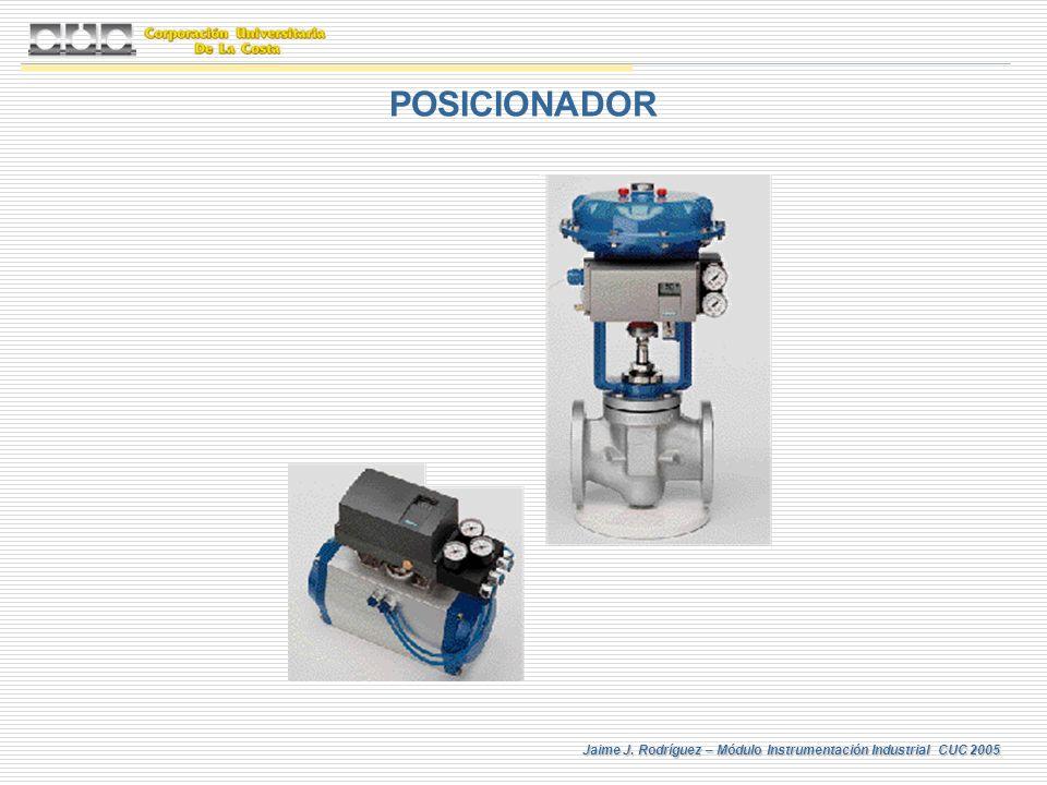 Jaime J. Rodríguez – Módulo Instrumentación Industrial CUC 2005 POSICIONADOR