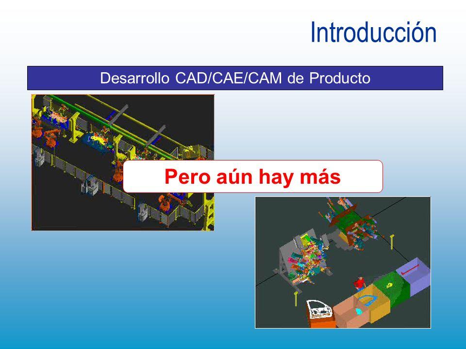 Introducción Desarrollo CAD/CAE/CAM de Producto Pero aún hay más