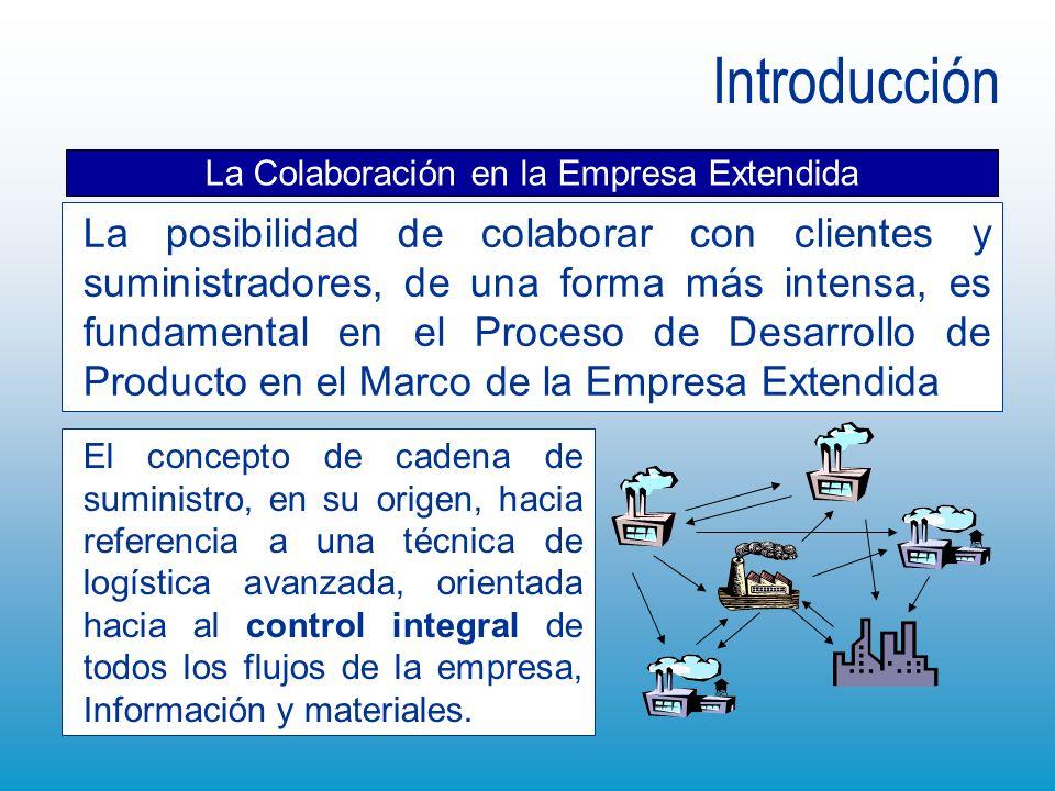 El concepto de cadena de suministro, en su origen, hacia referencia a una técnica de logística avanzada, orientada hacia al control integral de todos