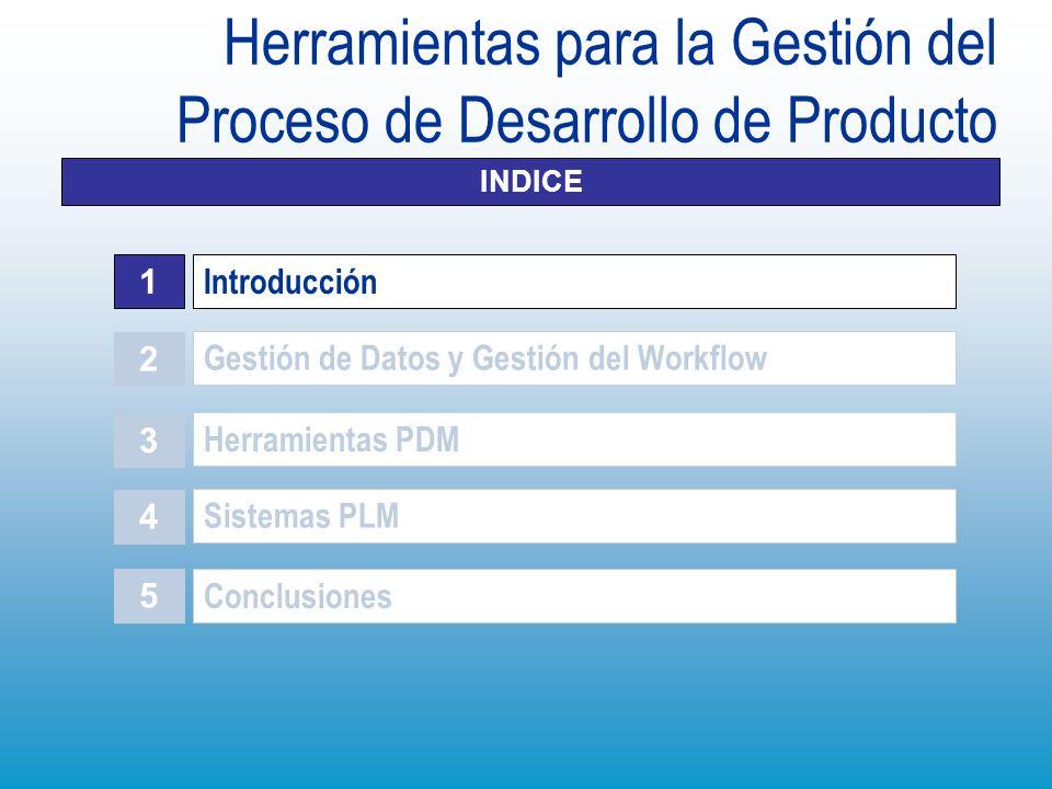 Sistemas PLM Conjunto de Aplicaciones de los Sistemas PLM ENOVIA: esta herramienta PLM que sólo puede gestionar datos procedentes de CATIA y DELMIA.