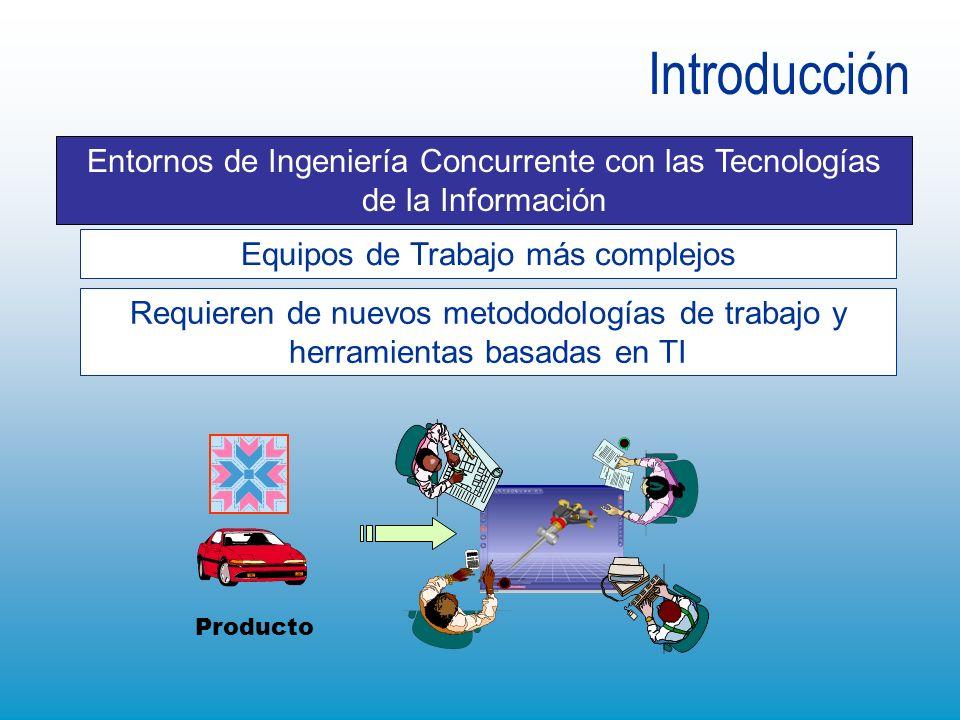 Equipos de Trabajo más complejos Entornos de Ingeniería Concurrente con las Tecnologías de la Información Requieren de nuevos metododologías de trabaj