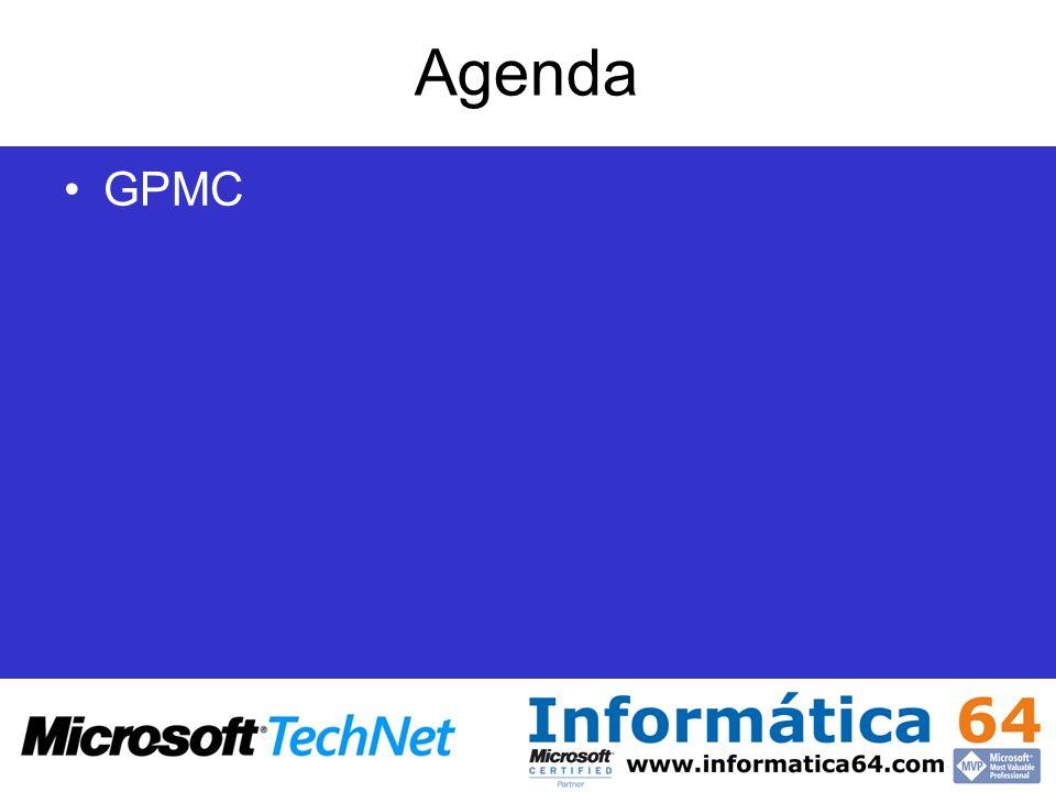 Agenda GPMC